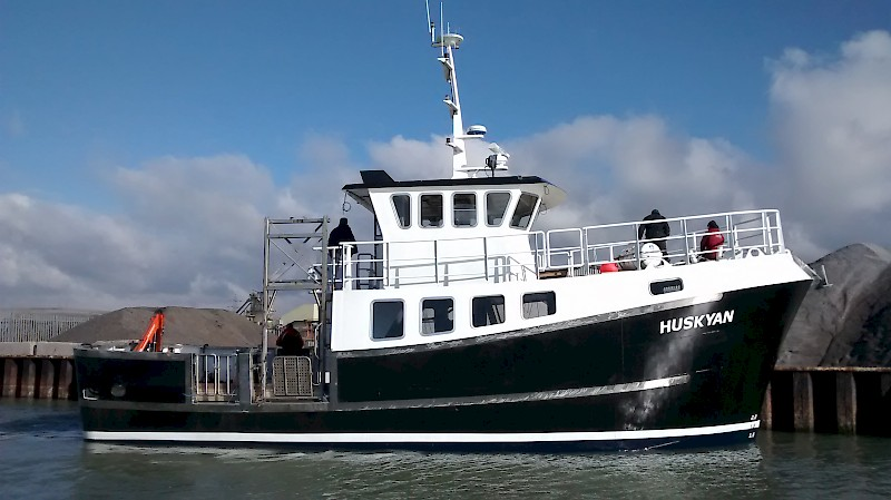 "MV Huskyan The ""Wish List"" Dive Charter Vessel"