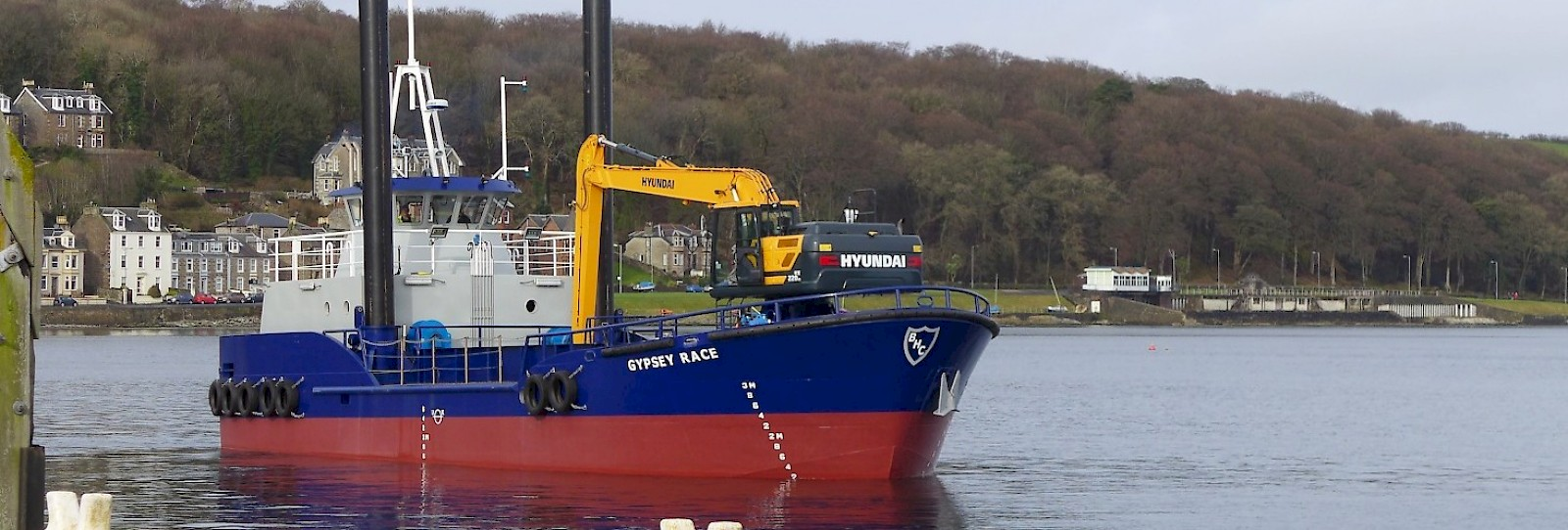 A smart looking dredger with capability above her scale